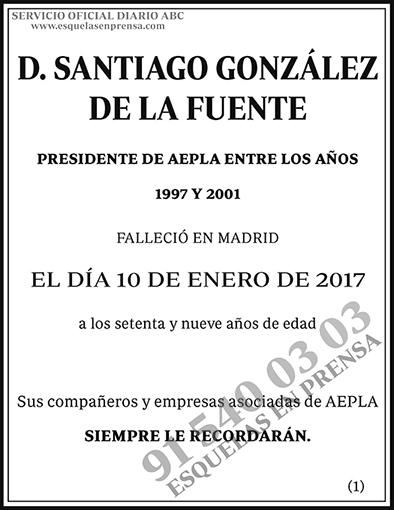 Santiago González de la Fuente